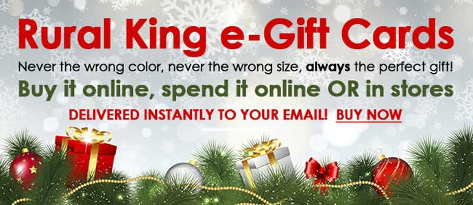 buy rural king egift cards - Rural King Christmas Decorations